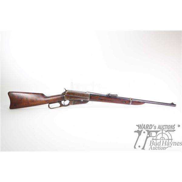 Non-Restricted rifle Winchester model 1895 Saddle Ring carbine, .30 US lever action, w/ bbl length 2