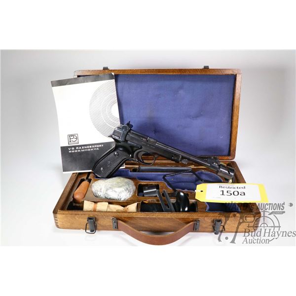 Restricted handgun Vostok model Margolin MCM, .22 LR seven shot semi automatic, w/ bbl length 191mm