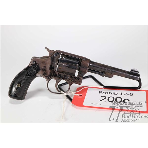 Prohib 12-6 handgun Smith & Wesson Hand Ejector Prohib 12-6 handgun Smith & Wesson model Hand Ejecto
