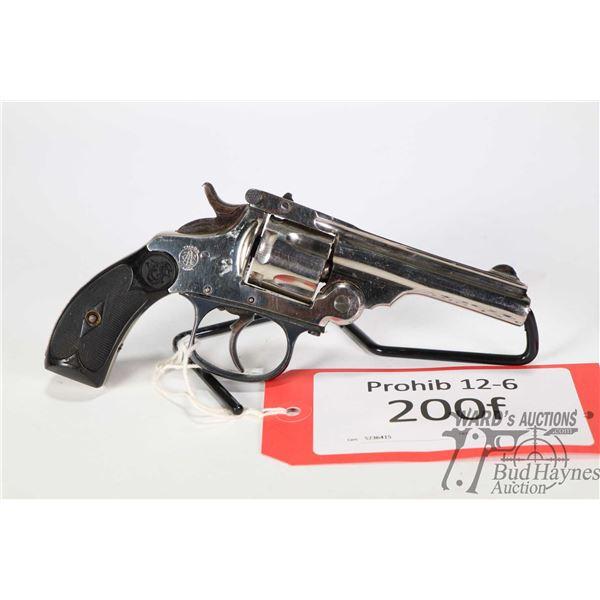 Prohib 12-6 handgun TAC S&W Top Break Copy Prohib 12-6 handgun TAC model S&W Top Break Copy .32 S&W