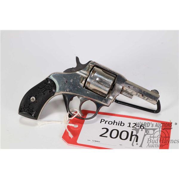 Prohib 12-6 handgun H&R American Double Action Prohib 12-6 handgun H&R model American Double Action
