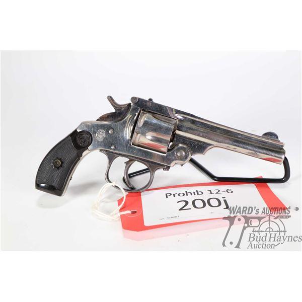 Prohib 12-6 handgun TAC S&W Top Break Copy Prohib 12-6 handgun TAC model S&W Top Break Copy .38 S&W