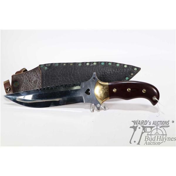 Large high quality custom made knife. Blade is Large high quality custom made knife. Blade is sharp