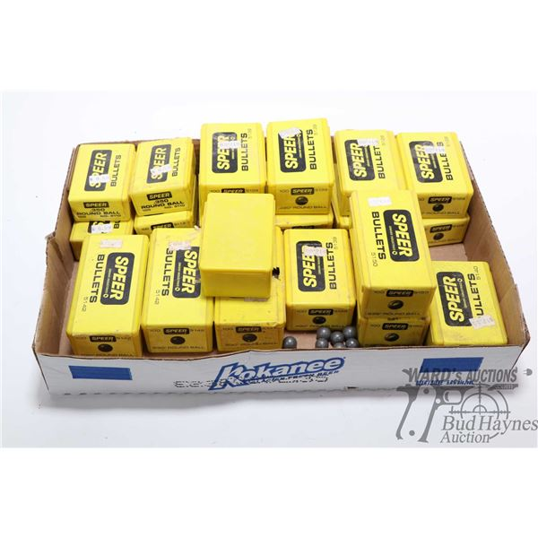 Large selection of Speer 100 count boxes of round Large selection of Speer 100 count boxes of round