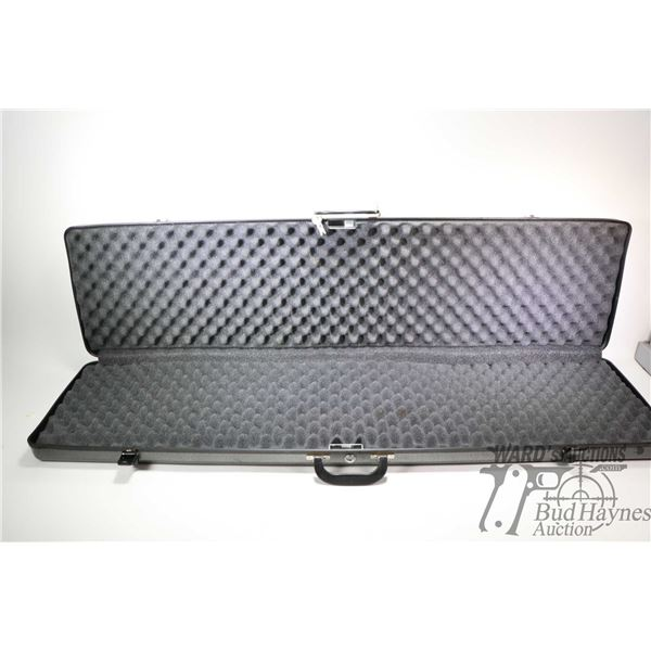 Outers brand hard gun case with key lock and keys, Outers brand hard gun case with key lock and keys