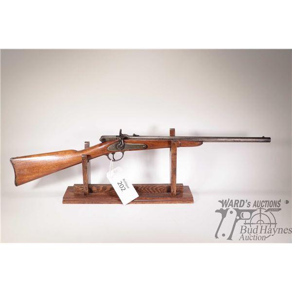 Antique Palmer 1865 Carbine Antique Palmer model 1865 Carbine 56-50RF Spencer Single Shot w/ bbl len