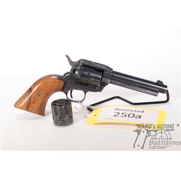 Restricted Schmidt & Rubin 21 Restricted Schmidt & Rubin model 21 22LR 6 Shot w/ bbl length 121mm se