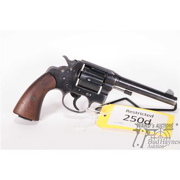 Restricted Colt 1917 US Army Restricted Colt model 1917 US Army 45 ACP 6 Shot w/ bbl length 140mm se