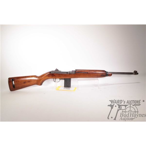 Restricted I.B.M Corp M1 Carbine Restricted I.B.M Corp model M1 Carbine 30 Carbine 5 Shot w/ bbl len