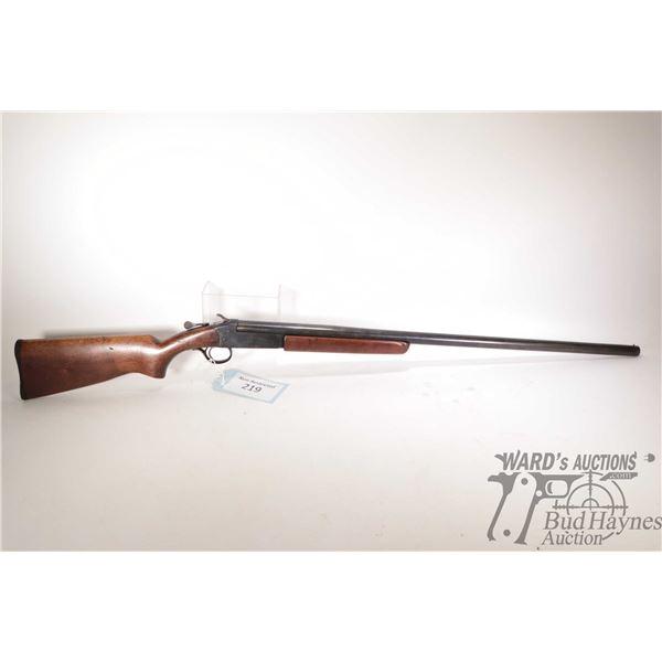"Non-Restricted Cooey 84 Non-Restricted Cooey model 84 12Ga Single Shot w/ bbl length 30"" serial # 41"