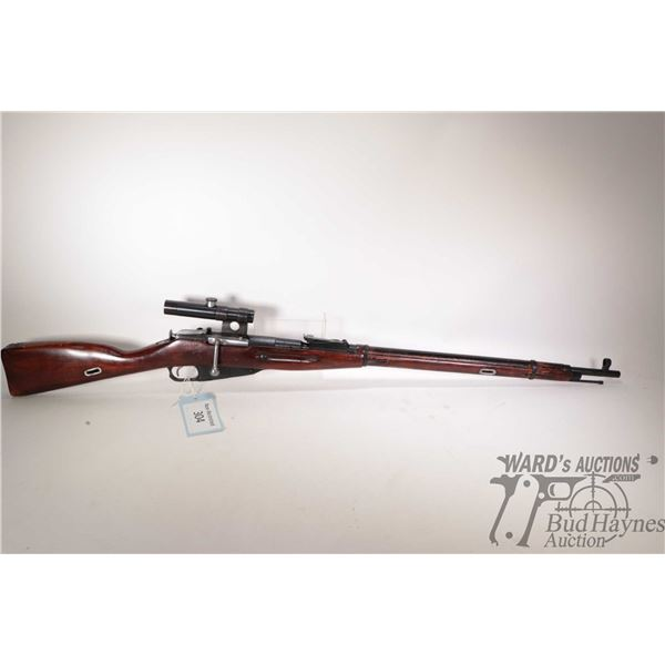 Non-Restricted Mossin Nagant (Izhevsk) M91/30 Non-Restricted Mossin Nagant (Izhevsk) model M91/30 7.