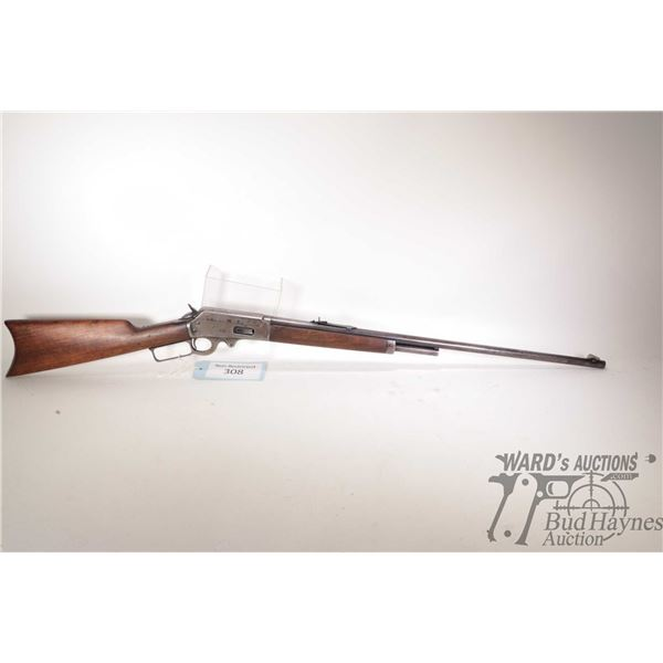 """Non-Restricted Marlin Saftey Non-Restricted Marlin model Saftey 30-30 w/ bbl length 36"""" serial # A46"""