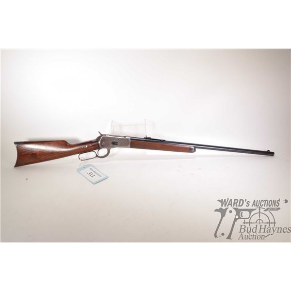 """Non-Restricted Winchester 1892 Non-Restricted Winchester model 1892 44 W.C.F w/ bbl length 24"""" seria"""