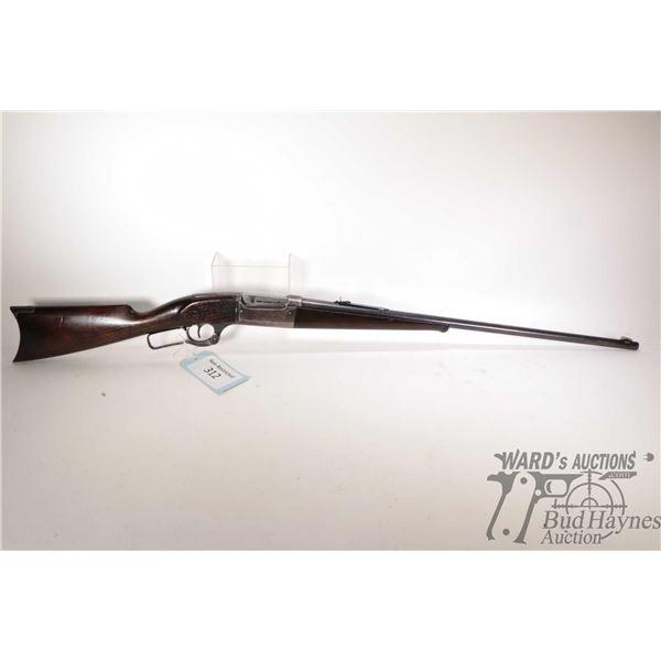 """Non-Restricted Savage 1899 Non-Restricted Savage model 1899 30-30 w/ bbl length 26"""" serial # 78496."""