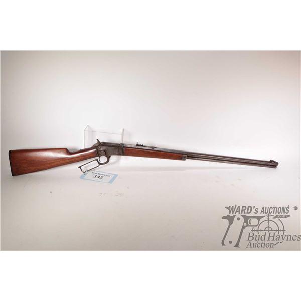 """Non-Restricted Marlin 1897 Non-Restricted Marlin model 1897 22 w/ bbl length 24"""" serial # 259211. NO"""