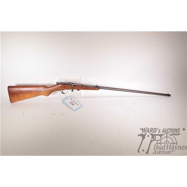 Non-Restricted rifle Simson & Co. Suhl model Prazision Karabiner, .22 LR Single shot bolt action, w/
