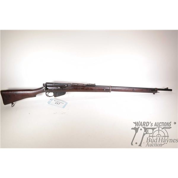 "Non-Restricted Lee Enfield MK 1 Non-Restricted Lee Enfield model MK 1 303 Brit. w/ bbl length 30"" se"