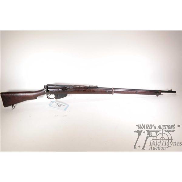 "Non-Restricted rifle Lee Enfield model MK 1, 303 Brit. ten shot bolt action, w/ bbl length 30"" [Blue"