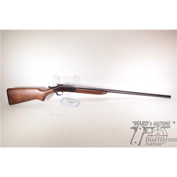 """Non-Restricted shotgun H&R model 48 Topper, 16 ga Single shot hinge break, w/ bbl length 30"""" [Blued"""