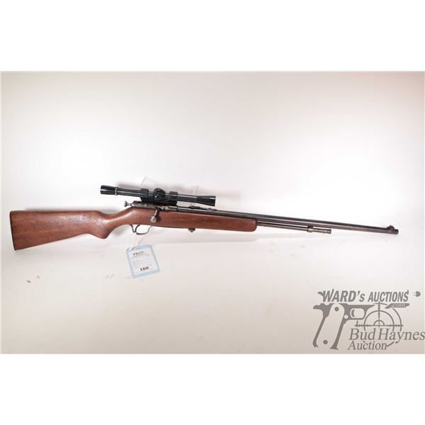"""Non-Restricted rifle Cooey model 60, 22 S-L-LR bolt action, w/ bbl length 24"""" [Blued barrel and rece"""