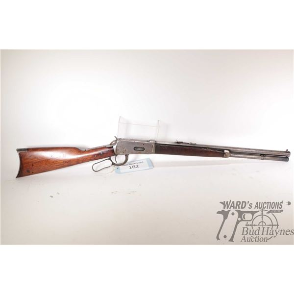 """Non-Restricted rifle Winchester model 1894, 30 W.C.F lever action, w/ bbl length 19 1/4"""" [Blued octa"""