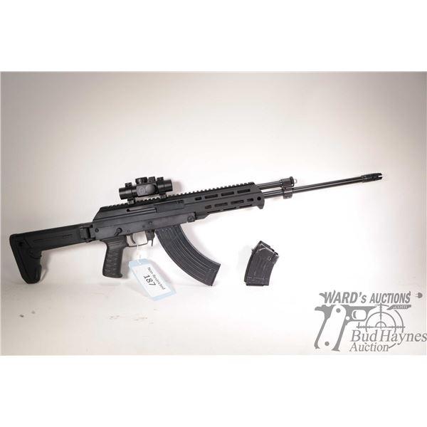 "Non-Restricted M+M M10X Non-Restricted M+M model M10X 7.62x39 5 Shot w/ bbl length 19"" serial # W054"