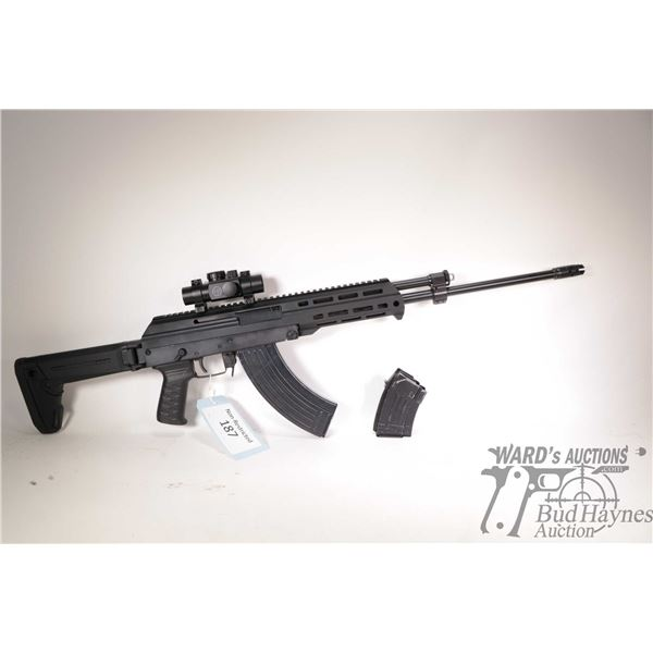 """Non-Restricted rifle M+M Industries model M10X, 7.62x39 five shot semi automatic, w/ bbl length 19"""""""