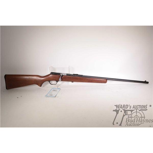 "Non-Restricted rifle Savage model 3D, .22 S L LR single shot bolt action, w/ bbl length 24"" [Blued b"