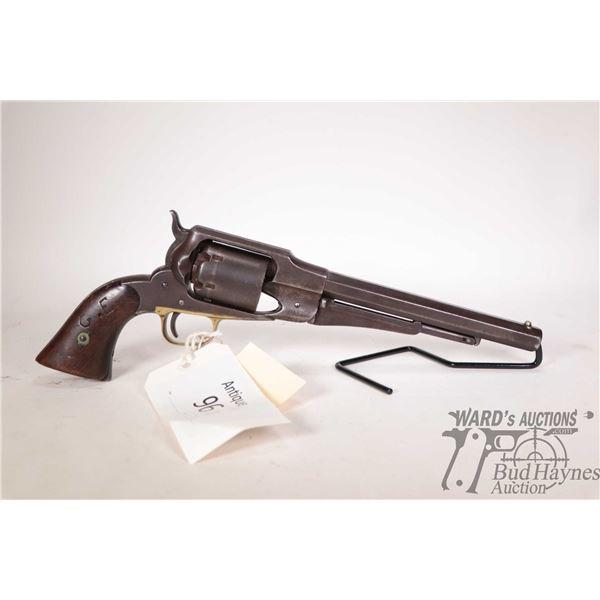 Antique handgun Remington model Old Army 1861, .44 Perc. six shot single action revolver, w/ bbl len