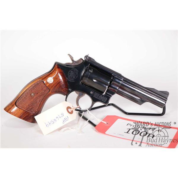 Prohib 12-6 handgun Smith & Wesson model 19-3, .357 Mag six shot double action revolver, w/ bbl leng