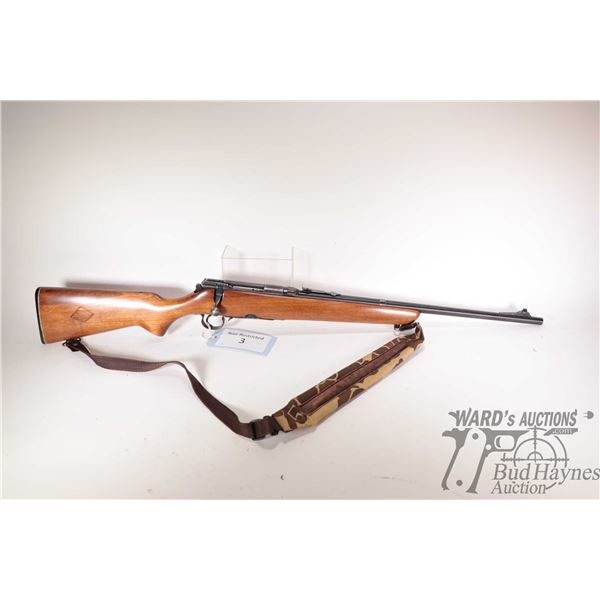 """Non-Restricted rifle Savage model 340, 30-30 bolt action, w/ bbl length 22"""" [Blued barrel and receiv"""
