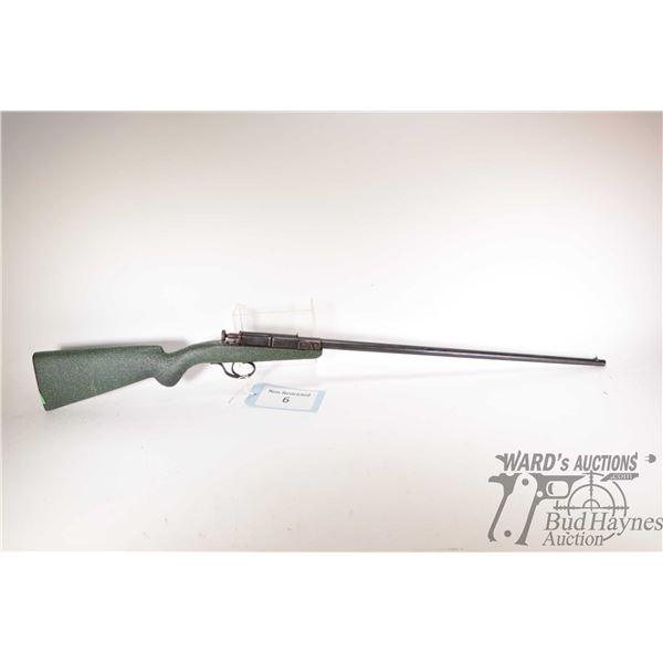 "Non-Restricted rifle Deutsche Werke model 1, 22 LR Single Shot breech block, w/ bbl length 23"" [Blue"