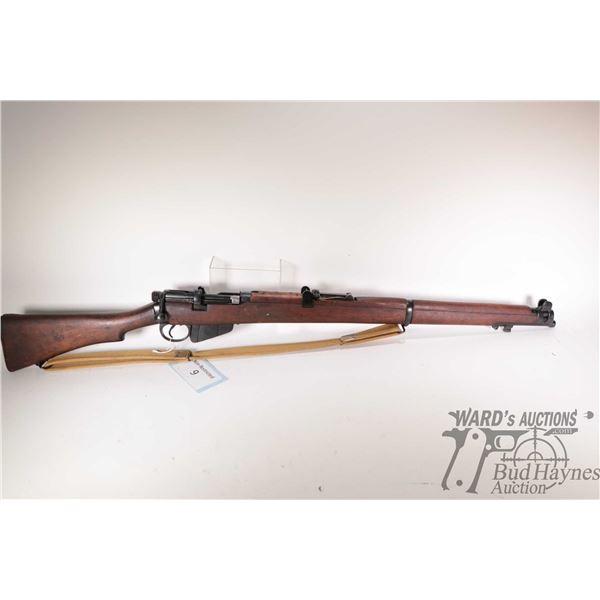 Non-Restricted rifle Lee Enfield ( RFI) model No Model Markings, .303 Brit ten shot bolt action, w/
