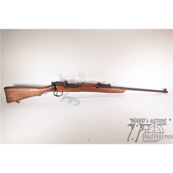 Non-Restricted rifle Lee Enfield (Lithgow) model S.M.L.E II* 1942, .303 Brit bolt action, w/ bbl len
