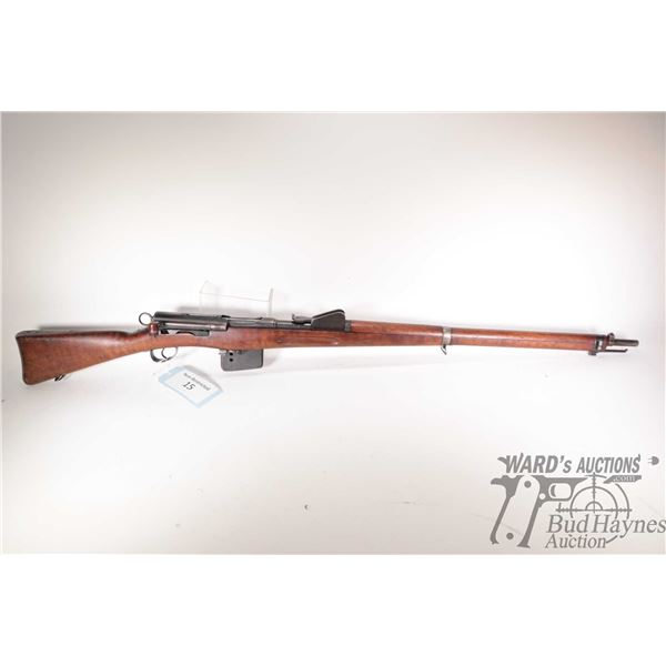 "Non-Restricted rifle Schmidt-Rubin model 1889/96, 7.5x53.5 bolt action, w/ bbl length 30 1/2"" [Blued"