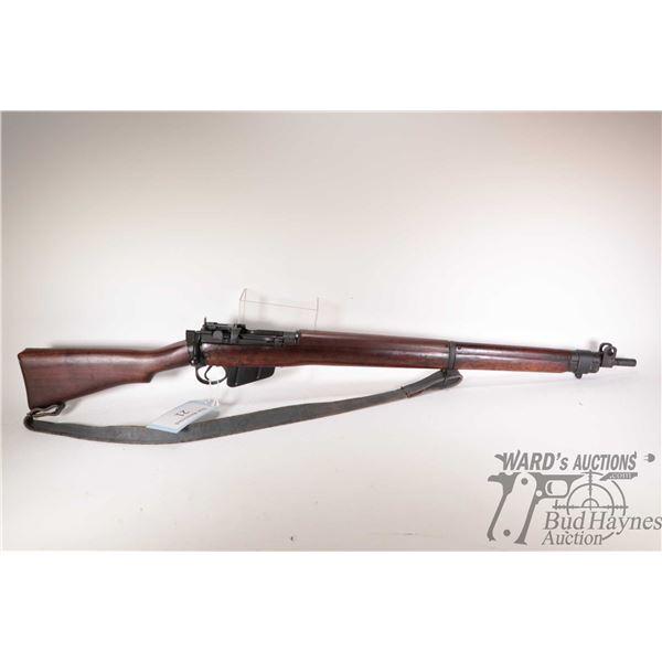 Non-Restricted rifle Lee Enfield (Long Branch) model C No4 MK I*, .303 Brit ten shot bolt action, w/