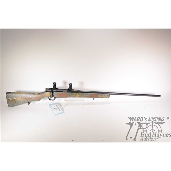 Non-Restricted rifle Arisaka model Type 38 Kokura Arsenal, 6.5 Japanese bolt action, w/ bbl length 2
