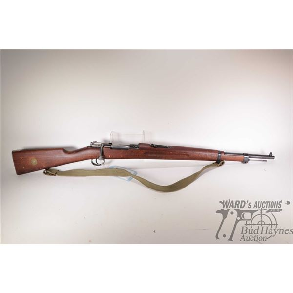 """Non-Restricted rifle Carl Gustafs model 1943 Mod. 38, 6.5x55 bolt action, w/ bbl length 24"""" [Blued b"""