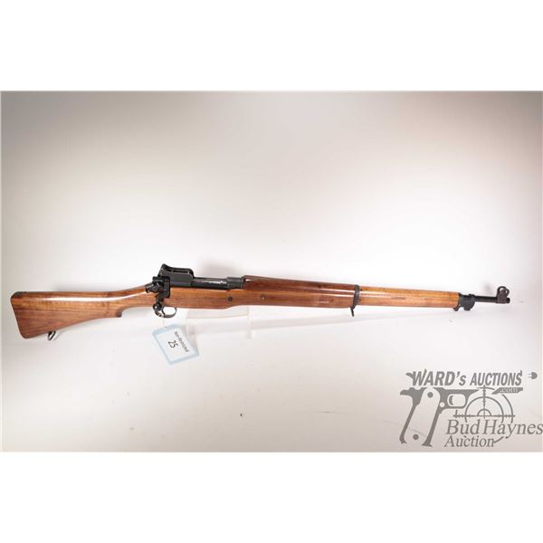 """Non-Restricted rifle ERA model M1917, .303 Brit. bolt action, w/ bbl length 26"""" [Blued barrel and re"""