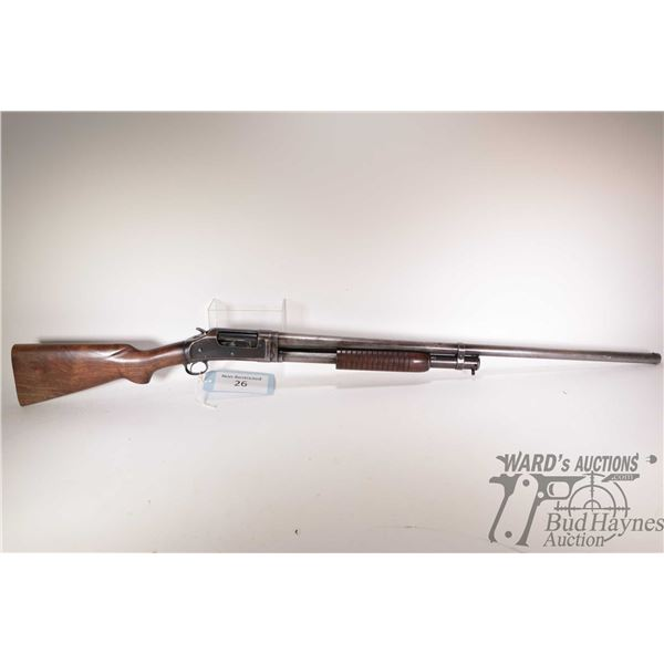 """Non-Restricted shotgun Winchester model 97, 12Ga 2 3/4"""" pump action, w/ bbl length 30"""" [Blued fixed"""