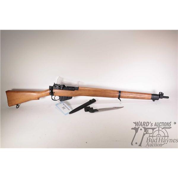 Non-Restricted rifle Lee Enfield model No 4 MK 2 (F) 12/54, .303 Brit ten shot bolt action, w/ bbl l
