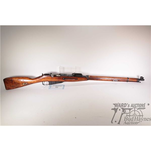 """Non-Restricted rifle Mosin Nagant model Finnish M27, 7.62x54r bolt action, w/ bbl length 27"""" [Blued"""