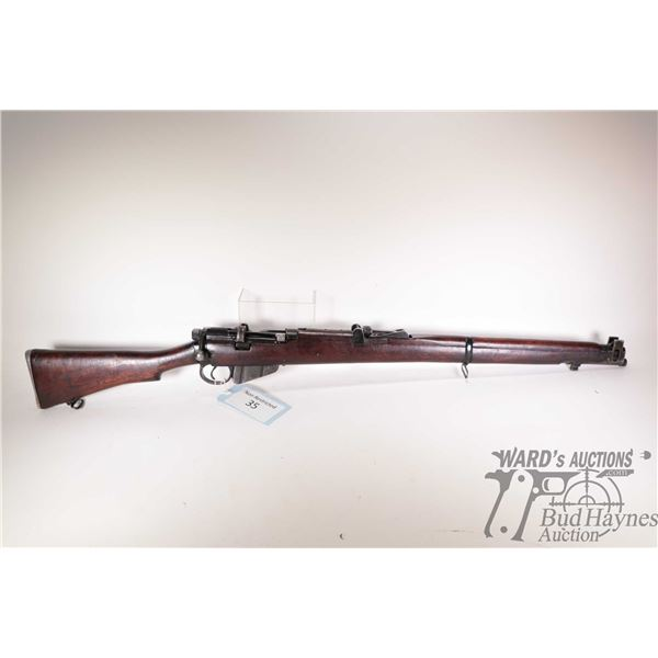 Non-Restricted rifle Lee Enfield model 2A1 (R.F.I) 1967, 7.62mm ten shot bolt action, w/ bbl length