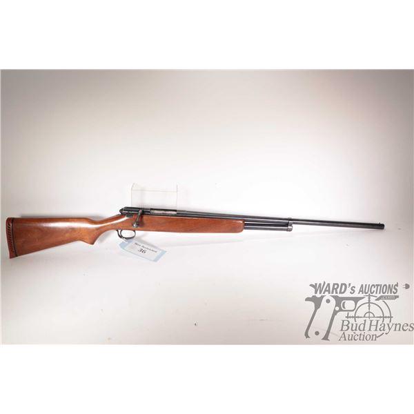 "Non-Restricted rifle J.C. Higgins model 583.22, 20Ga 2 3/4"" bolt action, w/ bbl length 26"" [Blued fi"