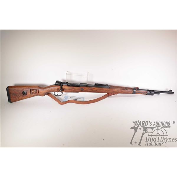 "Non-Restricted rifle Preduzece 44 model Mauser Mod. 98, 8mm Mauser bolt action, w/ bbl length 24"" [B"