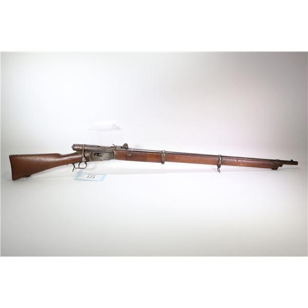 "Non-Restricted rifle Vetterli (Ost-Schweiz) model 1871, 10.4mm bolt action, w/ bbl length 33"" [Blued"