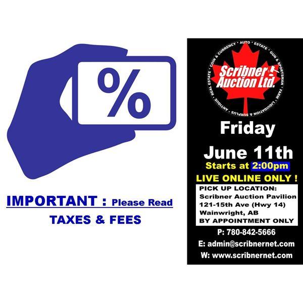 Buyer's Premium & Fees