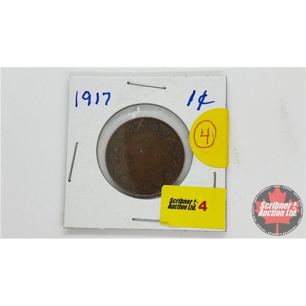Canada Large Cent 1917