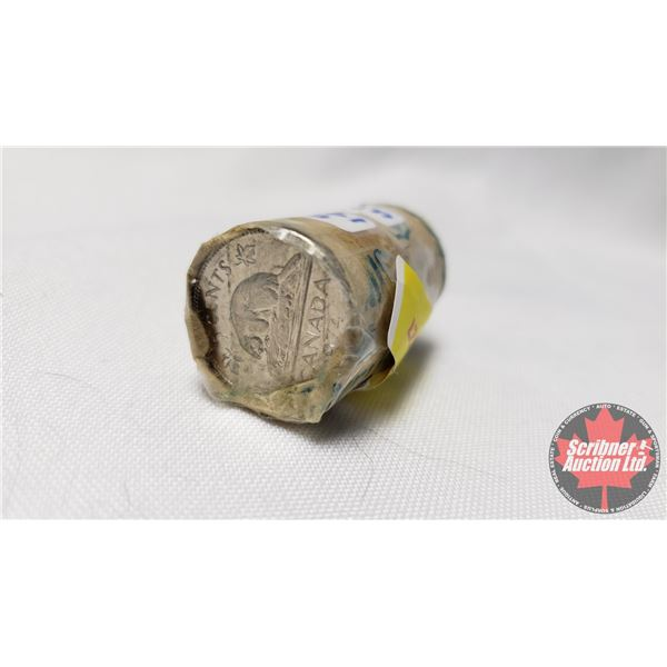 Canada Five Cent - Part Roll 1974 (NOTE: Rolls not opened by the Auction Company, so quantity and co