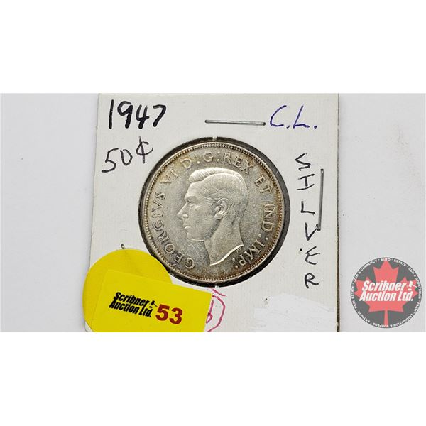 Canada Fifty Cent 1947